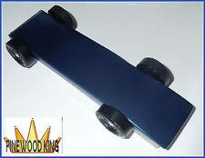 BLUE Pinewood Derby Car